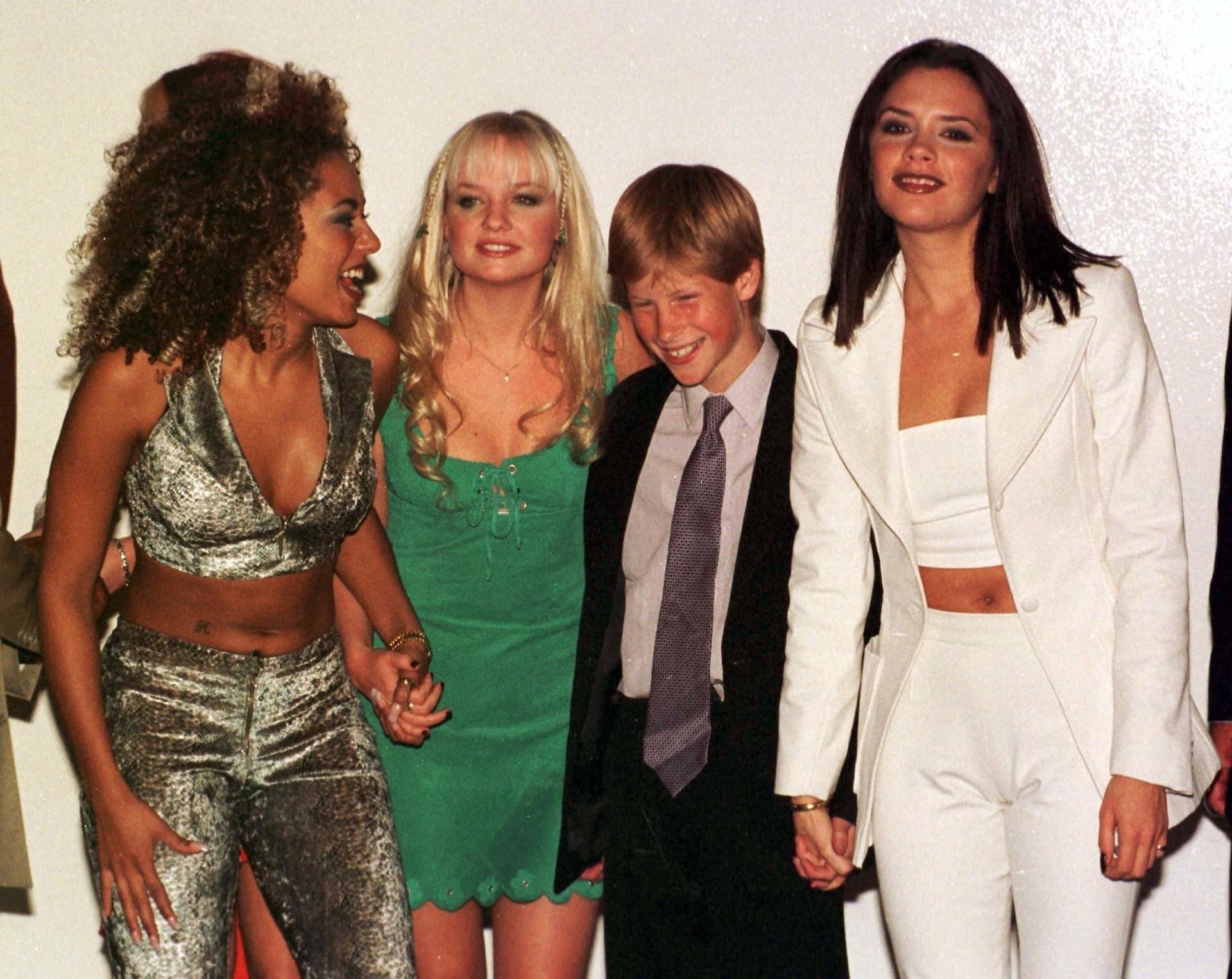 Prinz Harry Spice Girls