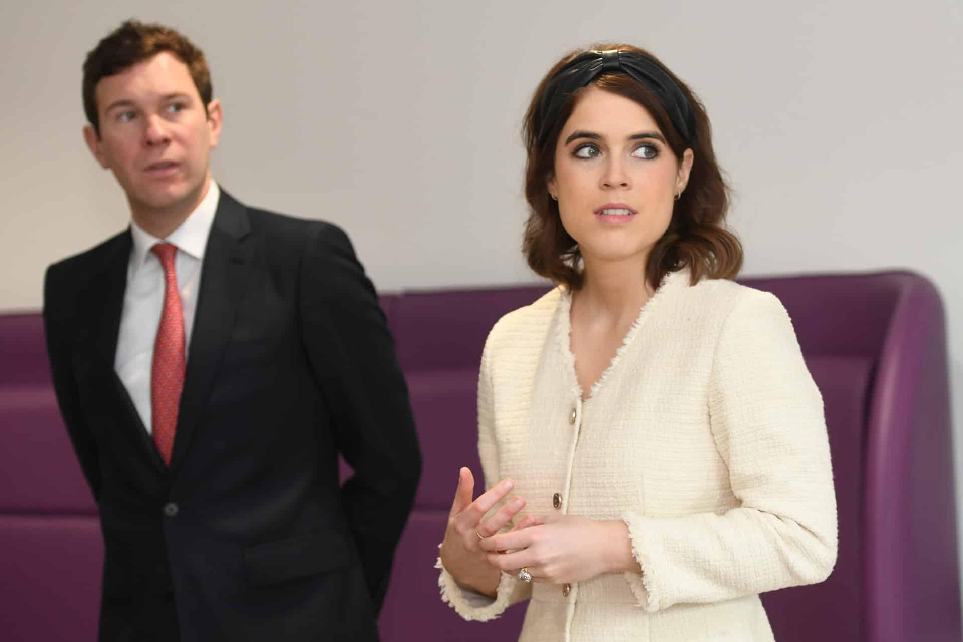 Prinzessin Eugenie: Was macht dein Mann Jack Brooksbank denn da?