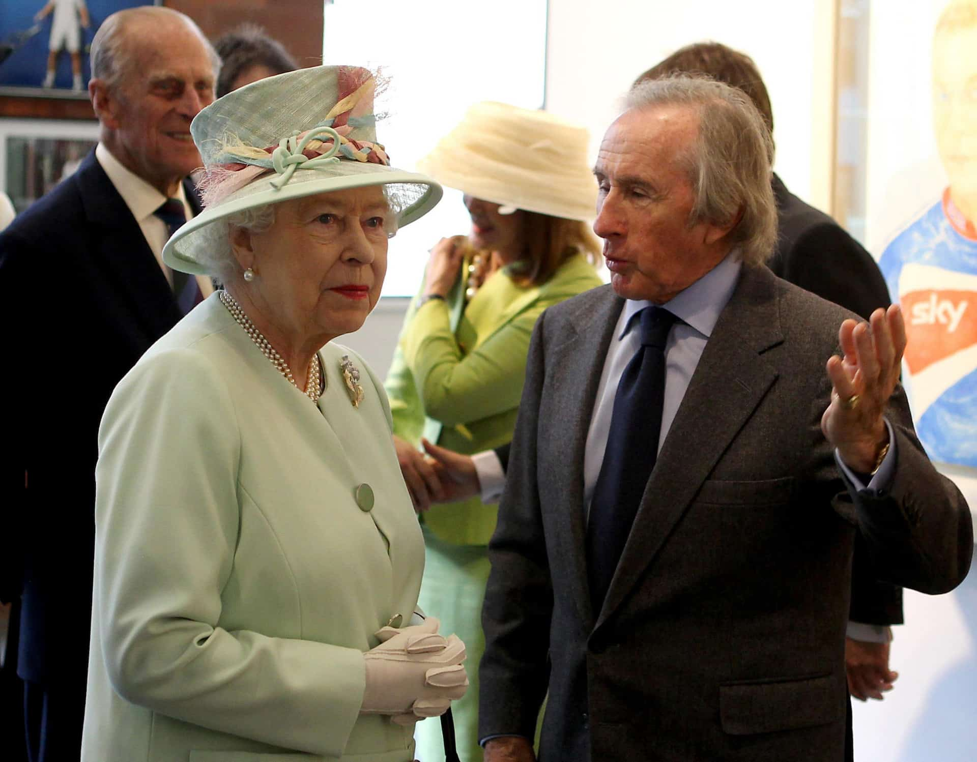 Queen Elizabeth enge Freunde