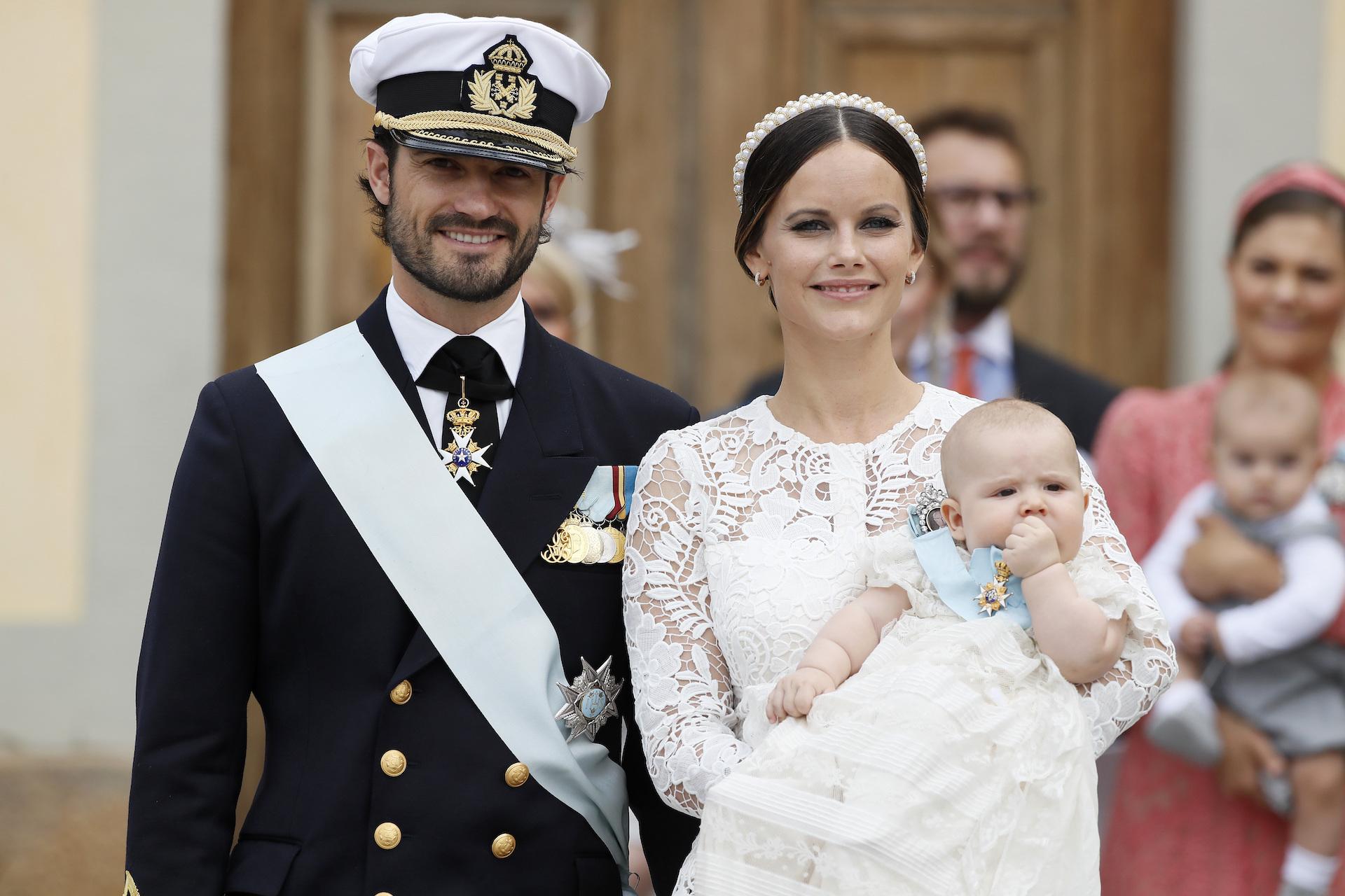 Schwedische Royals: Die überraschende Gästeliste der Taufe