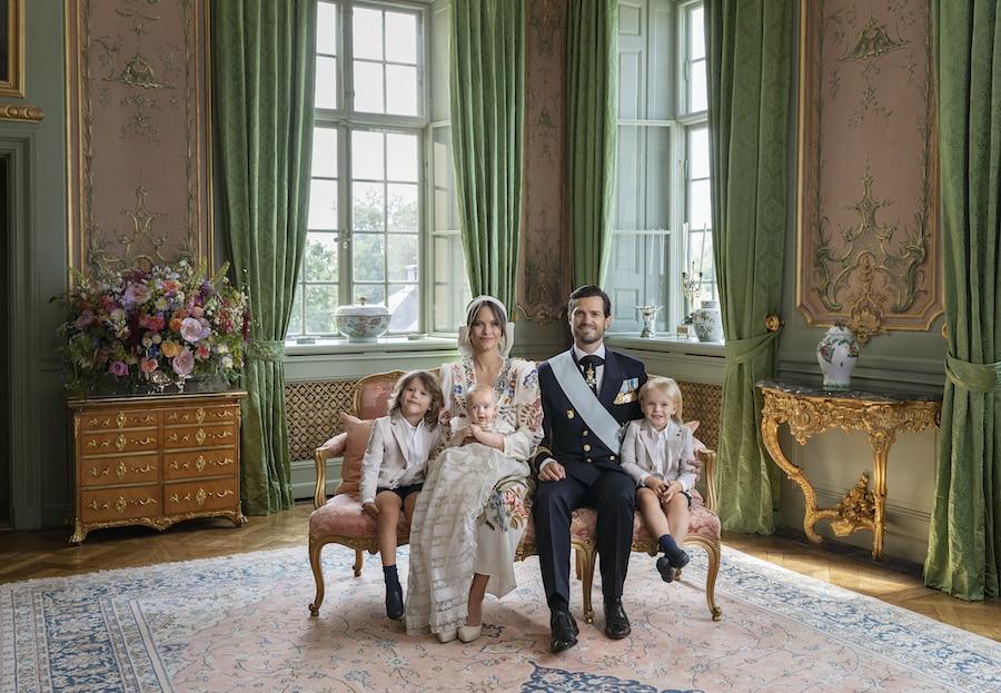 Schwedische Royals: Die offiziellen Tauffotos sind da