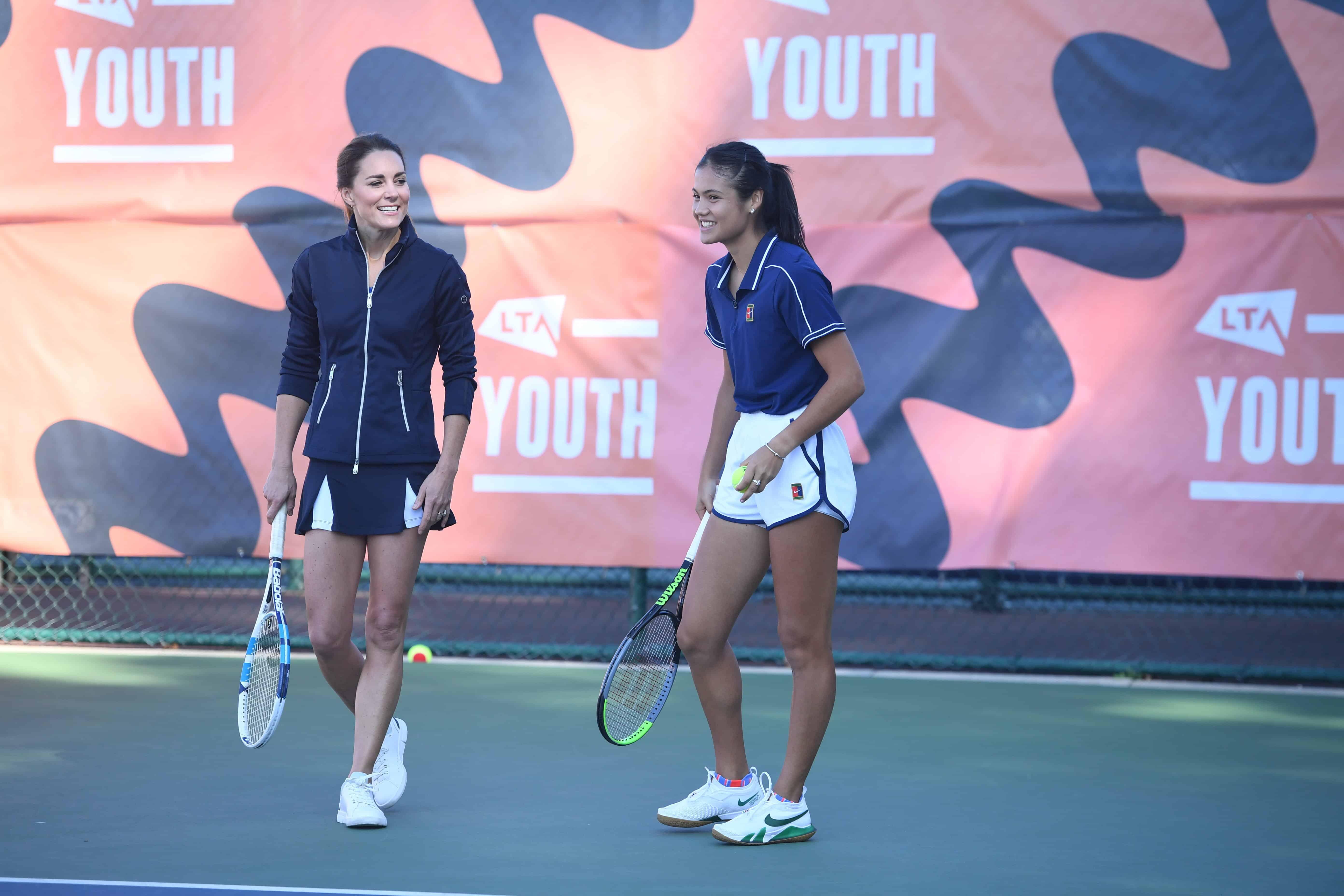 Herzogin Kate macht beim Tennis eine gute Figur