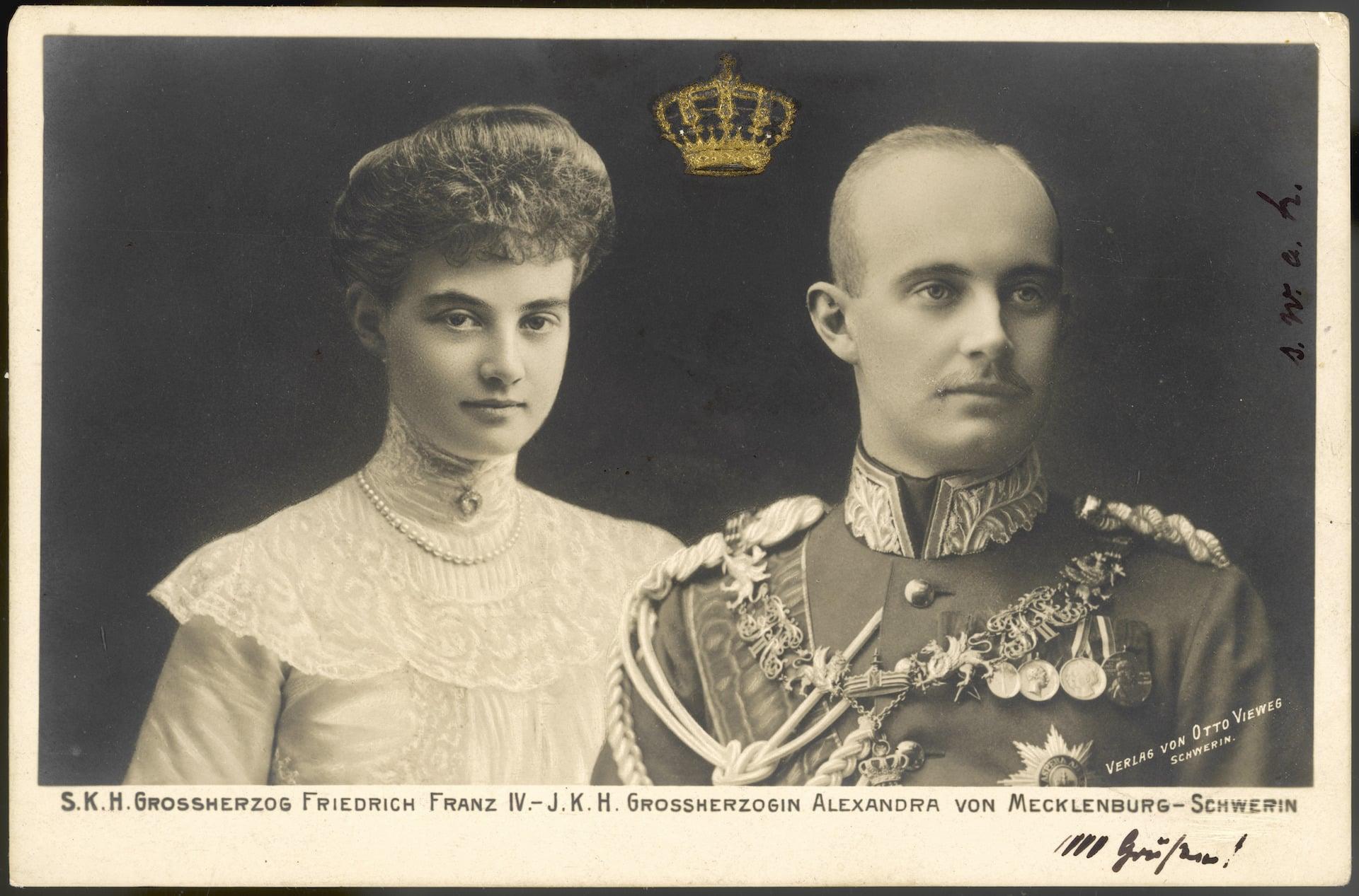 Alexandra von Mecklenburg-Schwerin: Sie entkam der Feuerhölle