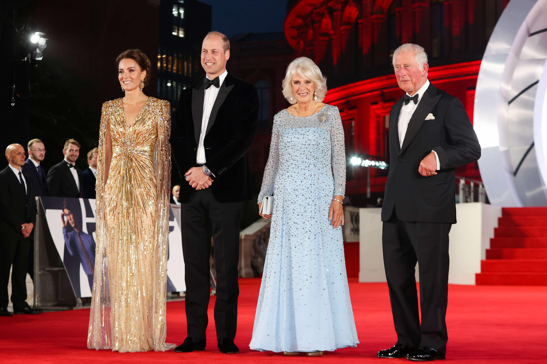 Herzogin Kate, Prinz William, Herzogin Camilla und Prinz Charles