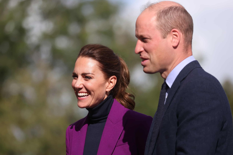 Herzogin Kate und Prinz William in Nordirland