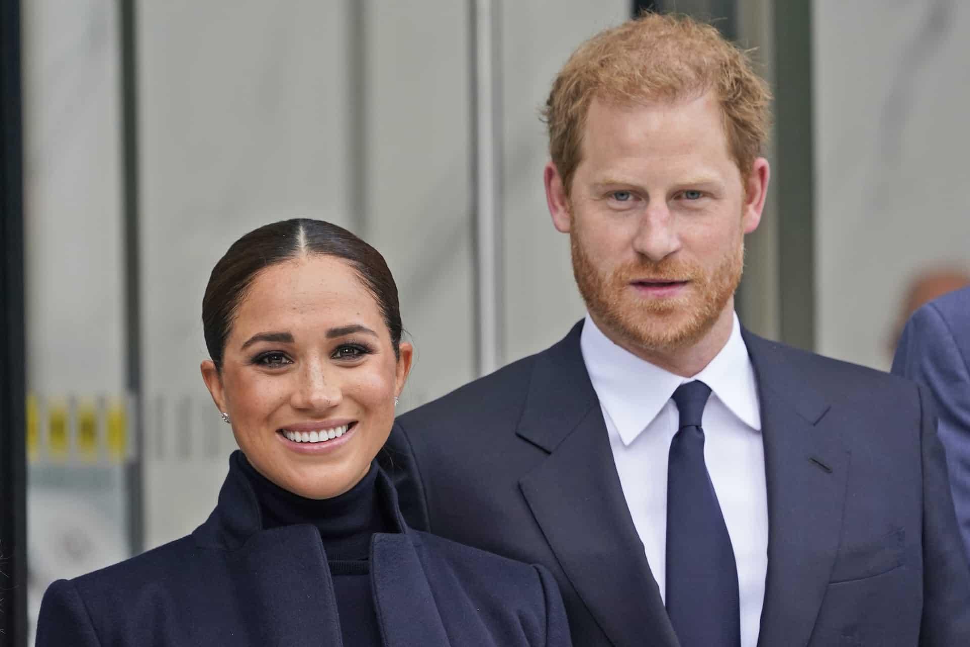 Herzogin Meghan und Prinz Harry: Erster Auftritt seit Lilis Geburt