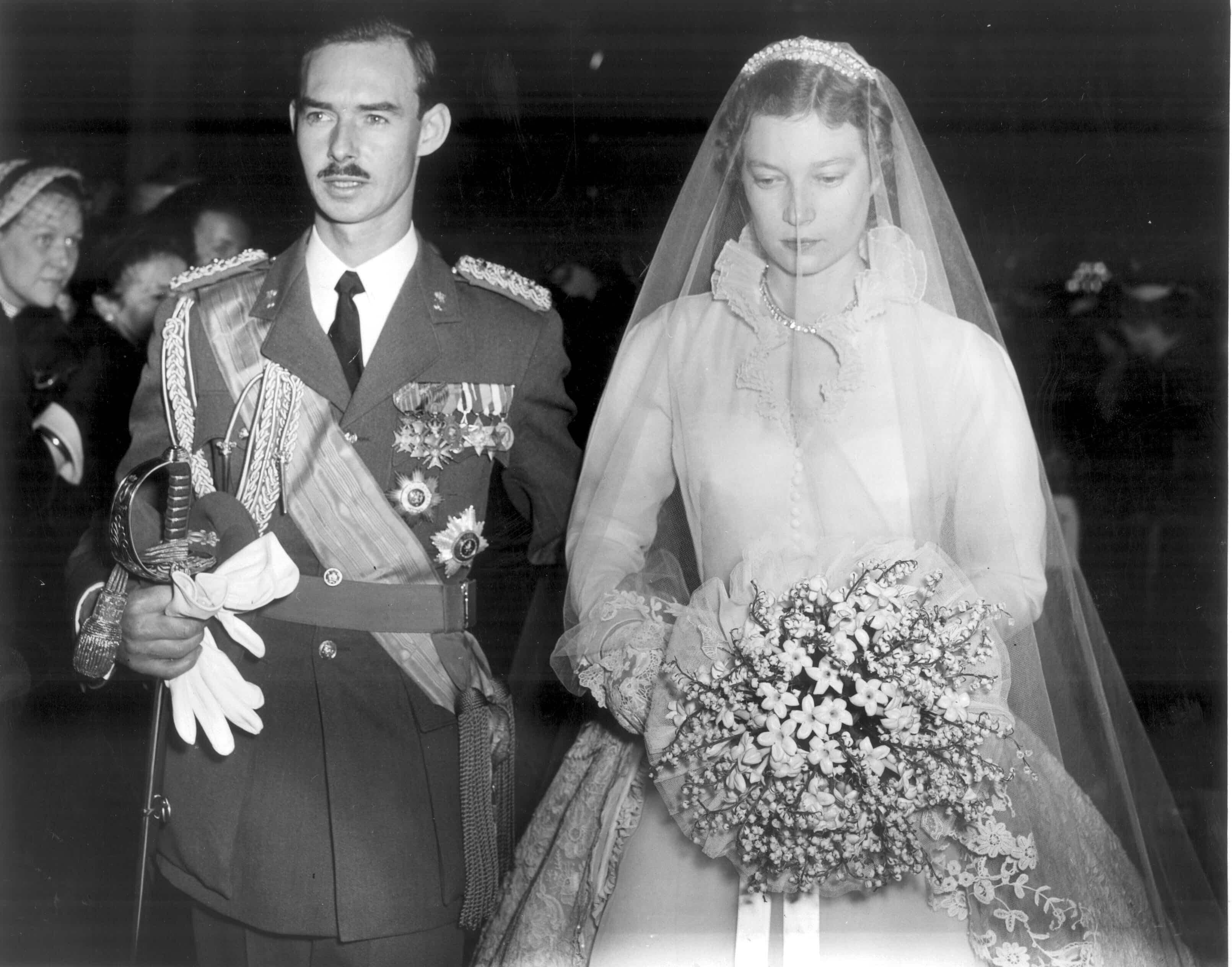 Prinzessin Joséphine Charlotte: Bei der Hochzeit weinte sie bittere Tränen