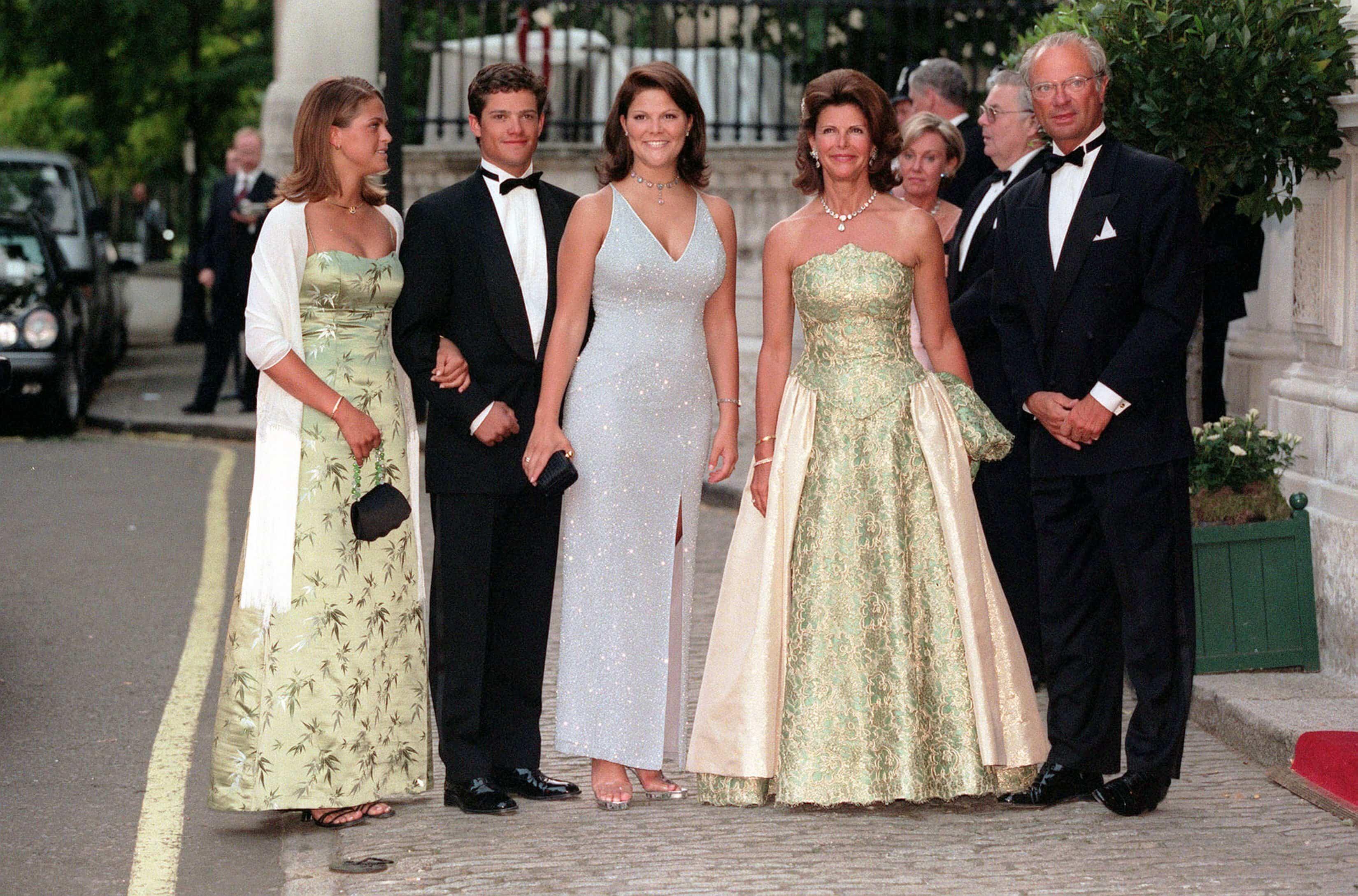Schwedische Royals 1999