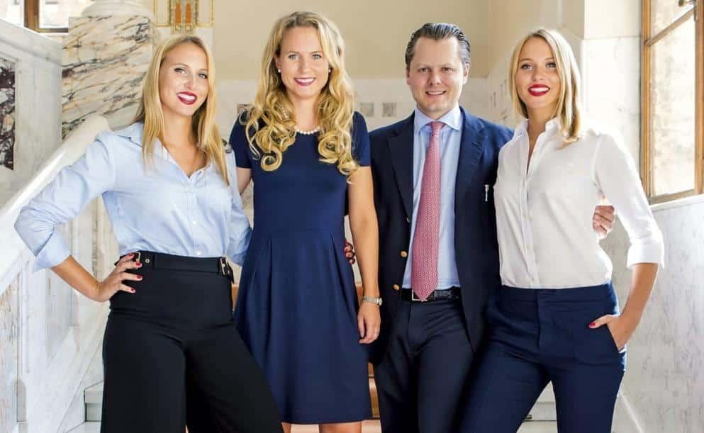 Faber-Castell-Zwillinge, Deutsche Prinzessinnen