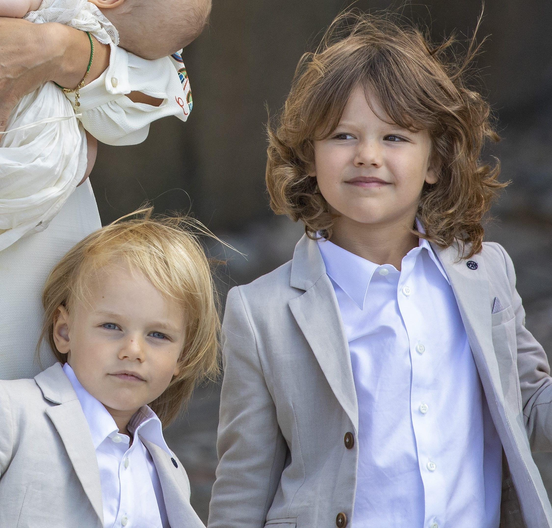 Prinz Gabriel und Prinz Alexander