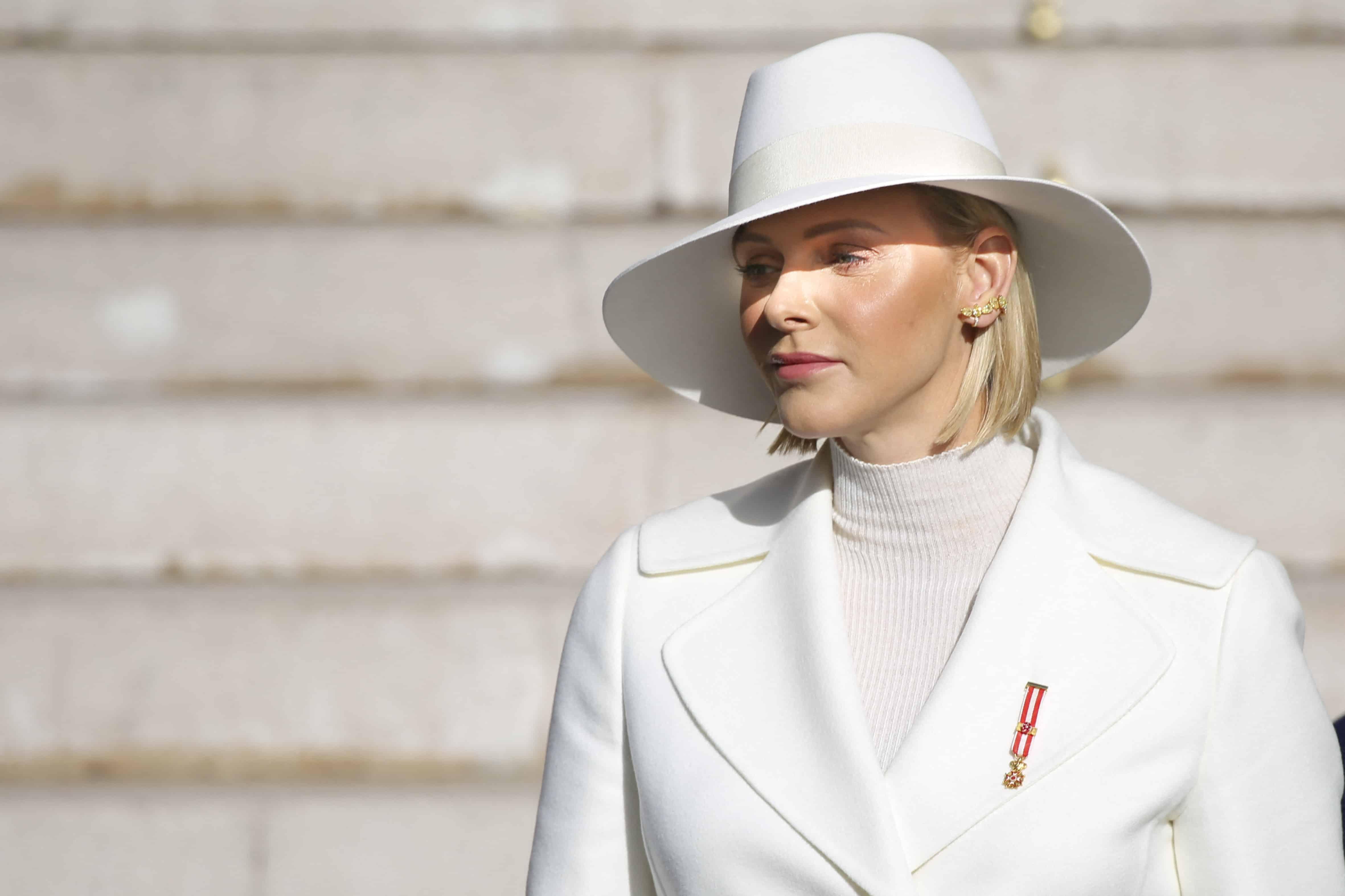 Fürstin Charlène trauert um ihren toten Engel