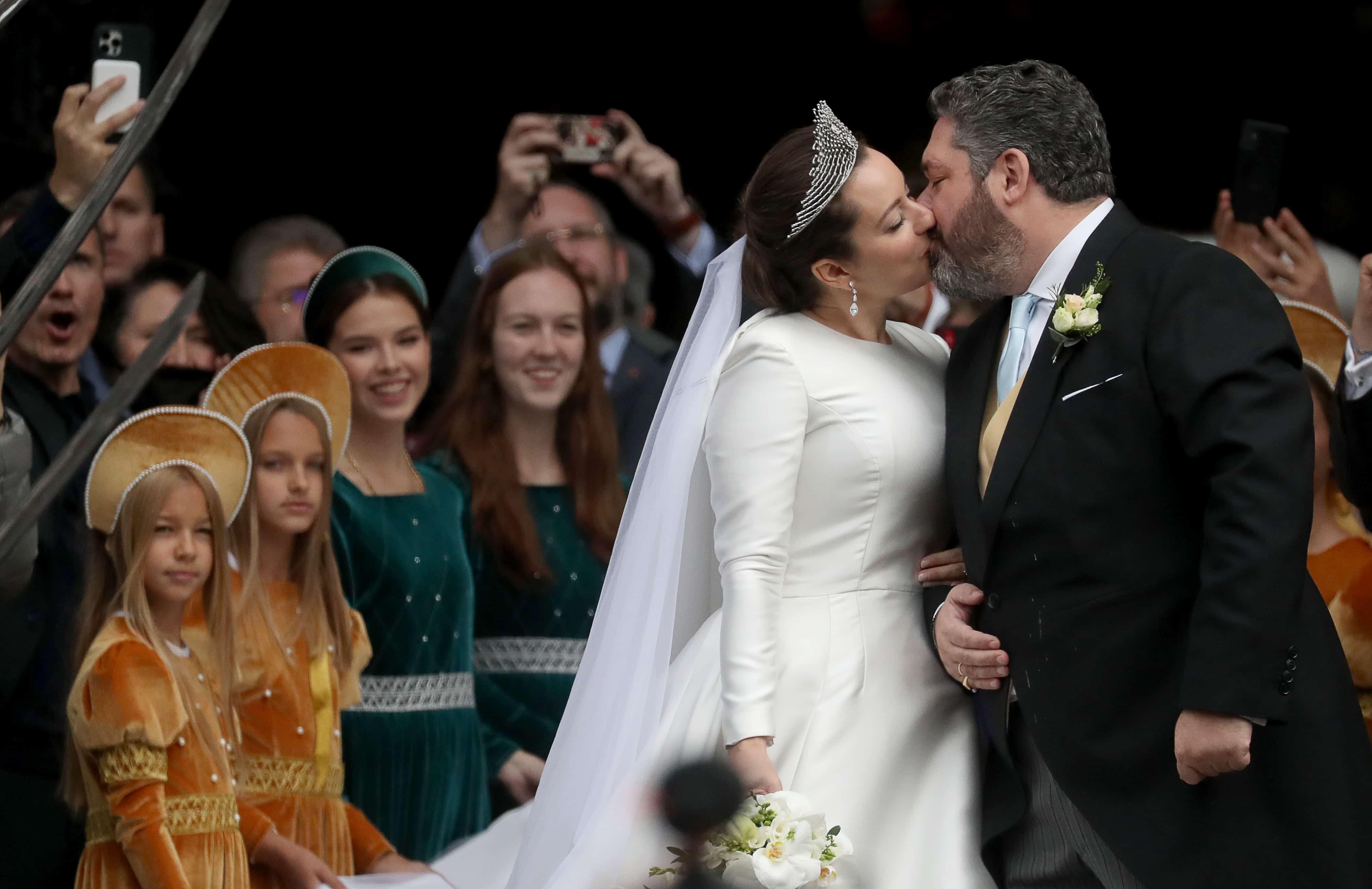 Großfürst Georgi: Kirchliche Hochzeit mit Victoria