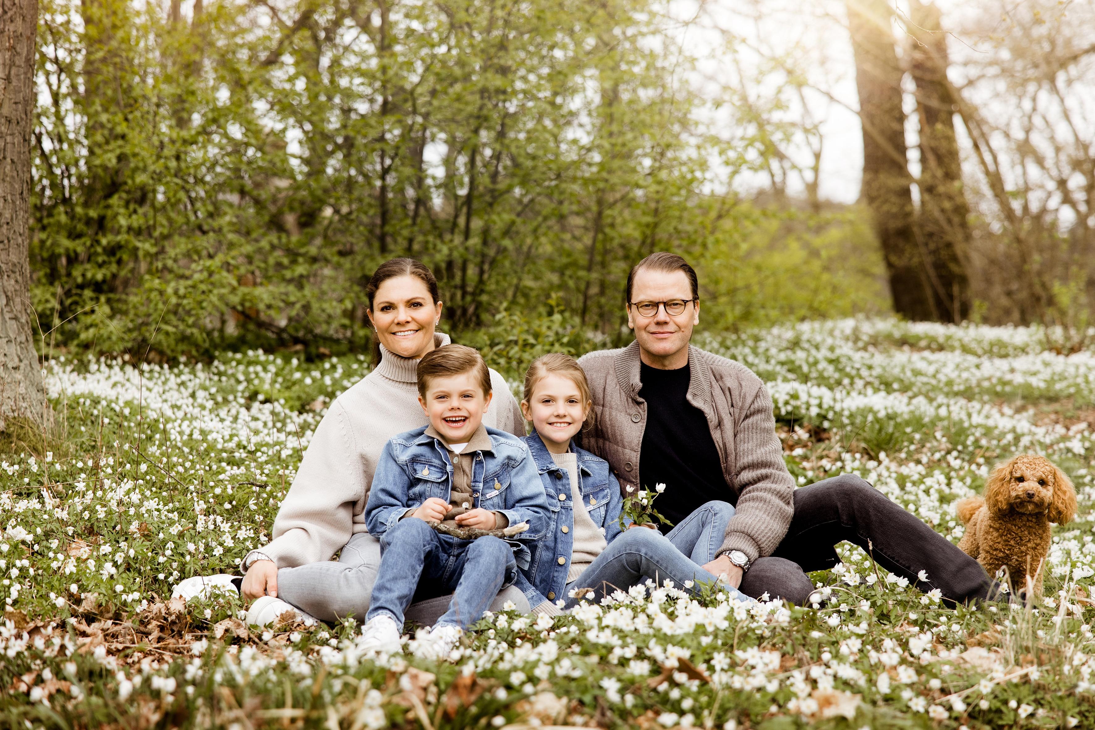 Kronprinzessin Victoria: Ausflug mit der Familie