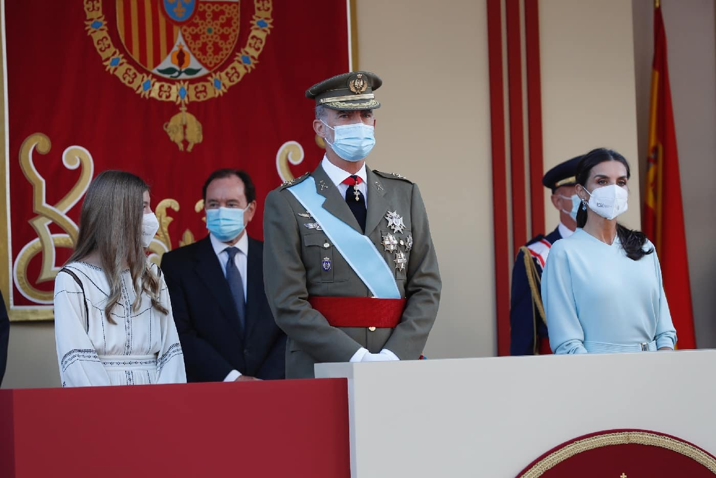 Spanische Royals: Nationalfeiertag ohne Prinzessin Leonor