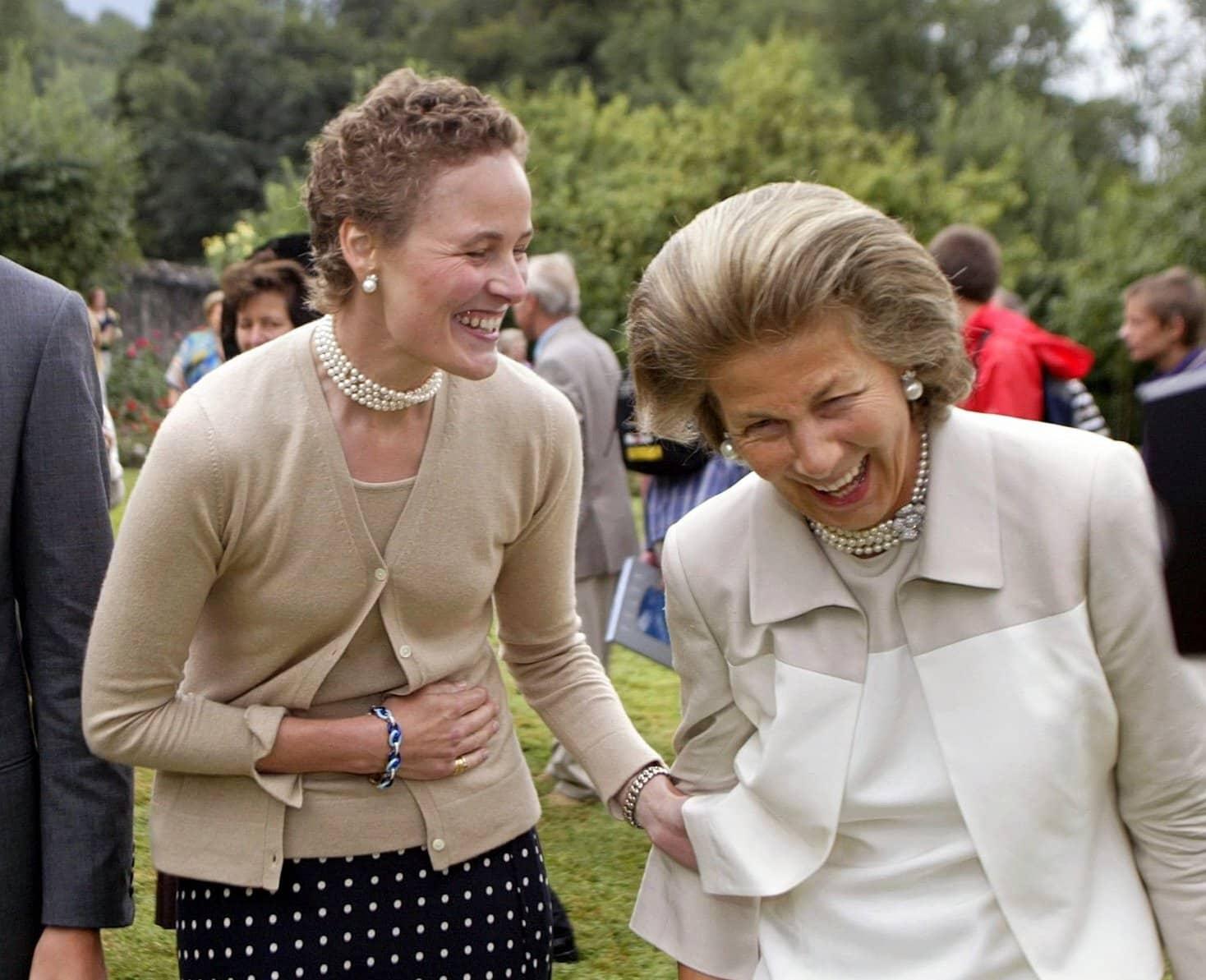 Erbprinzessin Sophie und Fürstin Marie von und zu Liechtenstein