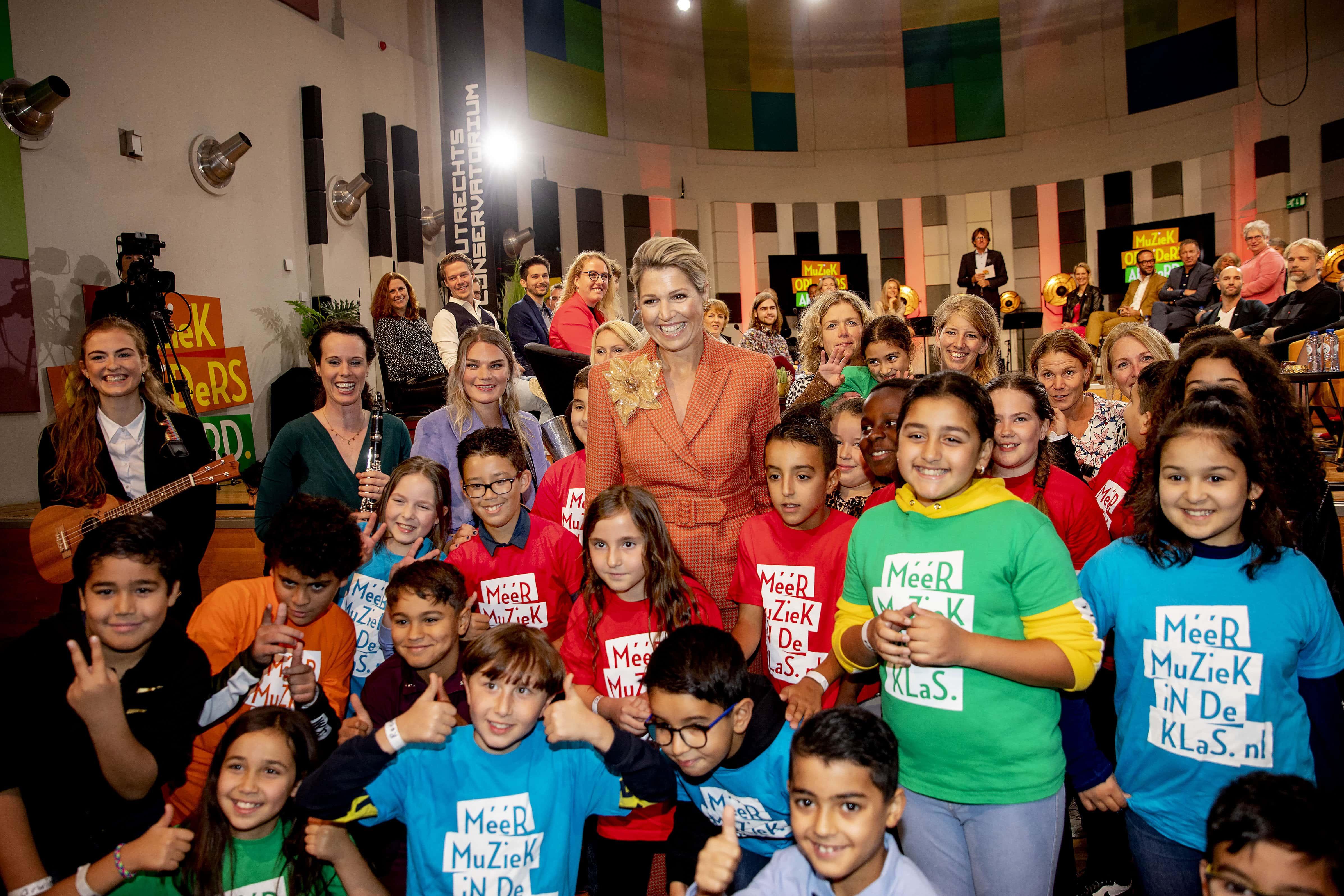 Königin Maxima mit Kindern