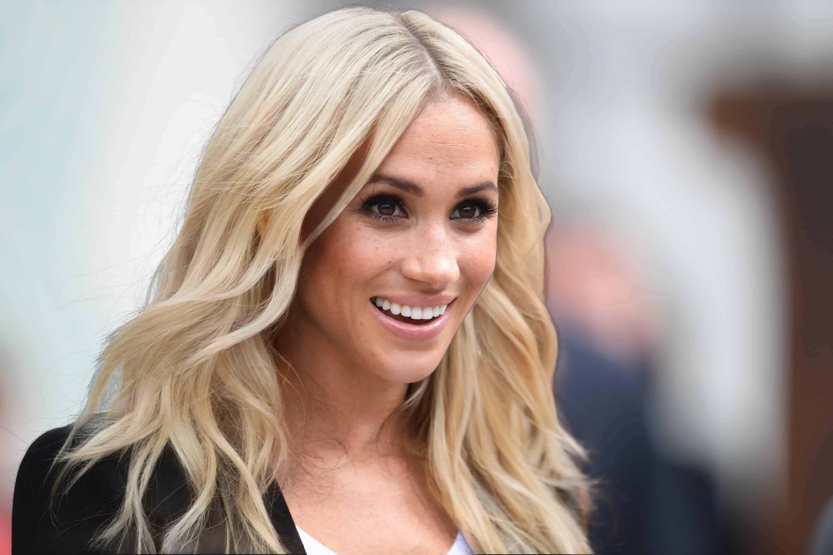 Duchess Meghan blonde