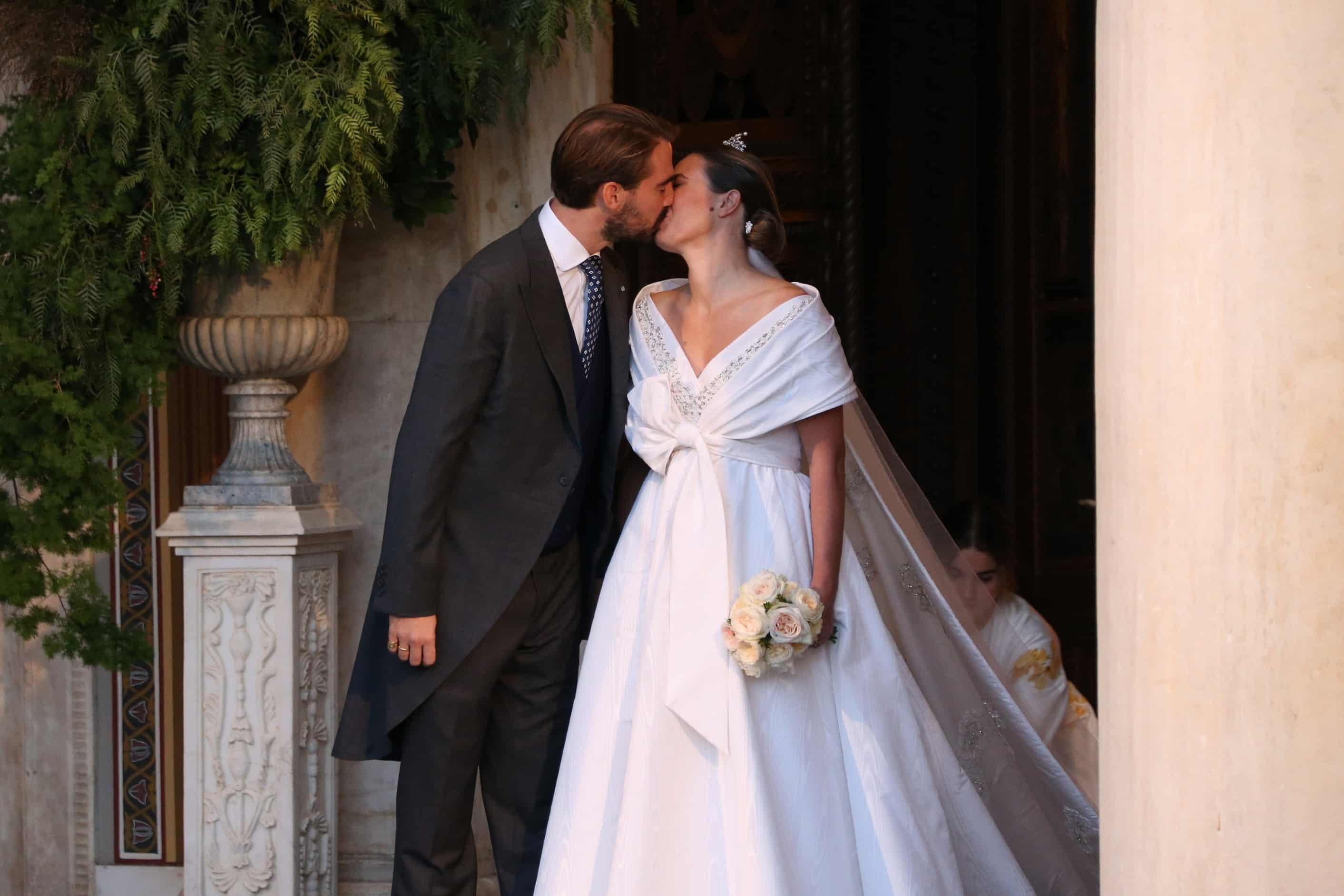 Nina Flohr und Prinz Philippos