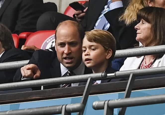 Prinz William und sein Sohn Prinz George